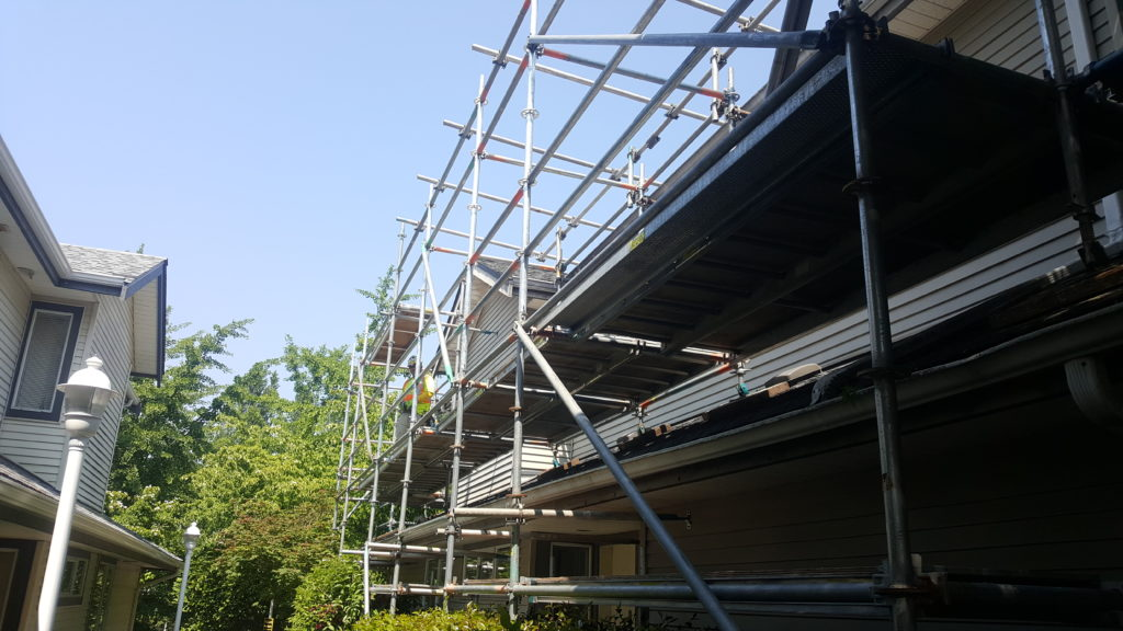 Scaffold installation
